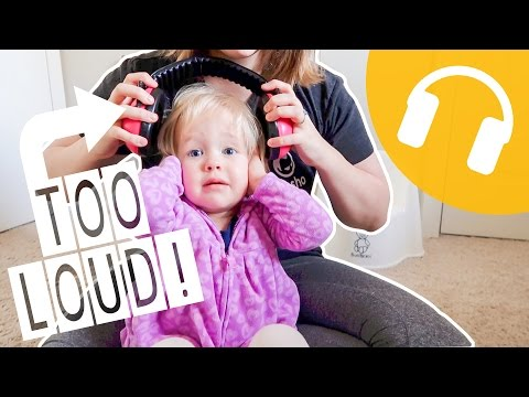 HELPING HER SENSORY SOUND ISSUES!