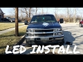 OBS Chevy LED Light Install Part 1 (88-98)