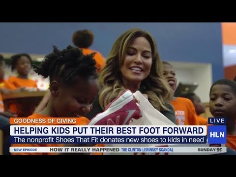 Charity wants every kid to have 'Shoes That Fit'