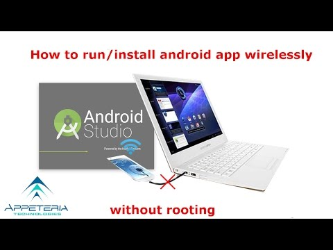 Test Android apps wireless in Android Studio