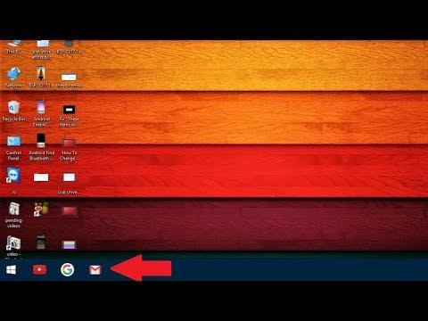 How to Pin Google, Youtube or Gmail to Windows 10 Taskbar Easily