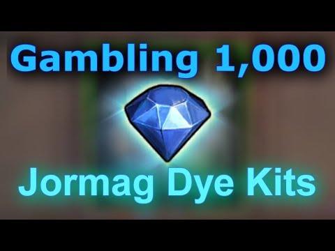 Opening 10 x Jormag Dye Kits (gambling 230g)  |  Guild Wars 2
