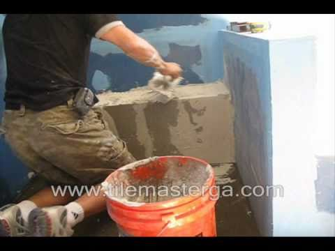 PART 2 . How to build & waterproof shower bench