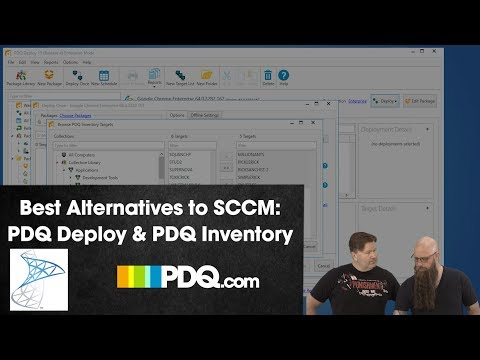 Best Alternative to SCCM: PDQ Deploy and PDQ Inventory