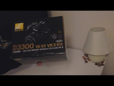 NEW VLOGGING CAMERA - NIKON D3300 (Unboxing/Review)