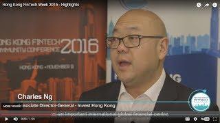 Hong Kong FinTech Week 2016 - Highlights