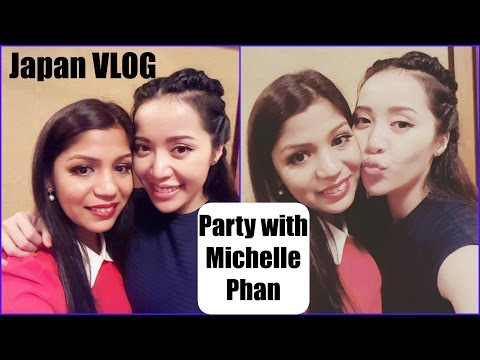 Party with Michelle Phan | Working At Youtube Space Tokyo |SuperPrincessjo