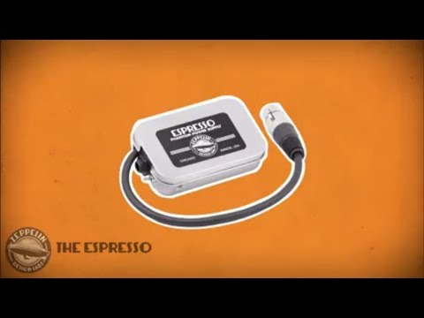The Espresso Portable Phantom Power Supply by Zeppelin Design Labs