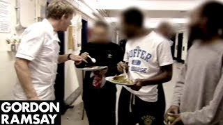 Gordon Ramsay Finds Out How His Menu Did In Prison | Gordon Behind Bars