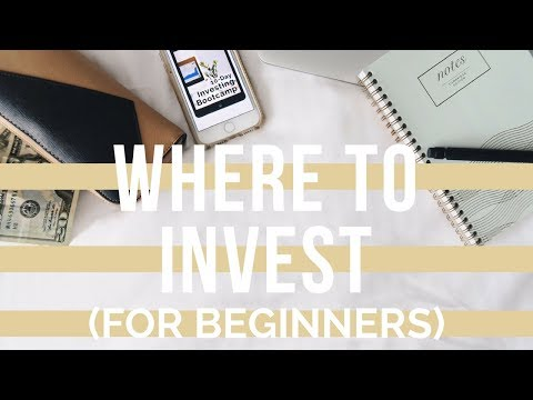 WHERE TO INVEST FOR BEGINNERS | Financial Planner, Roboadvisor, Brokerage Account, Investing Apps