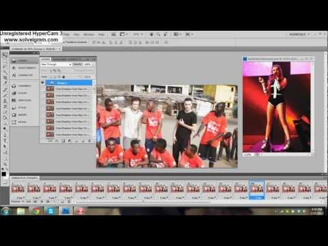 Adding PSD's and textures to gifs in Photoshop Cs4