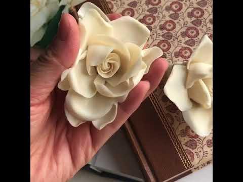 Beanpaste craft flower - gardenia
