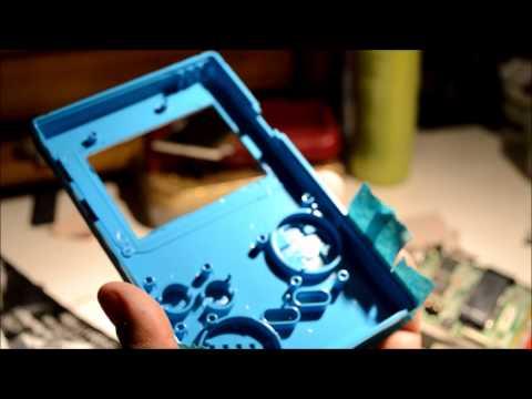 Gameboy Advance SP inside Original Gameboy mod 2
