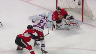 Stepan with a great effort to score shorthanded