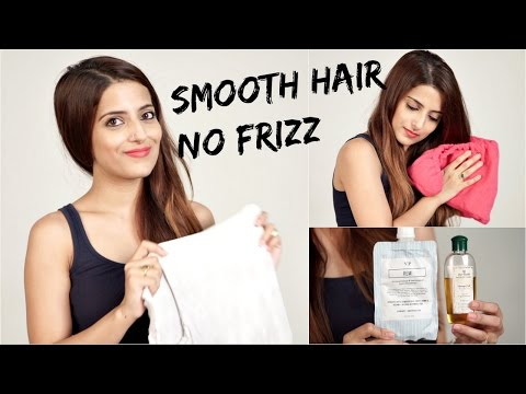 How To Smoothen Hair At Home Naturally/ Summer Hair Care/ Reward Me