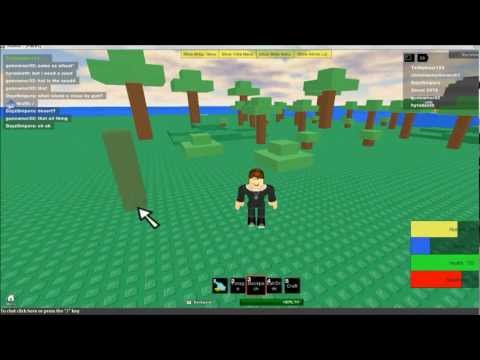 Roblox, Survival 303: How to build a wall and hull