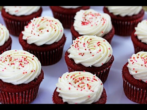 Red Velvet Cheesecake Cupcakes