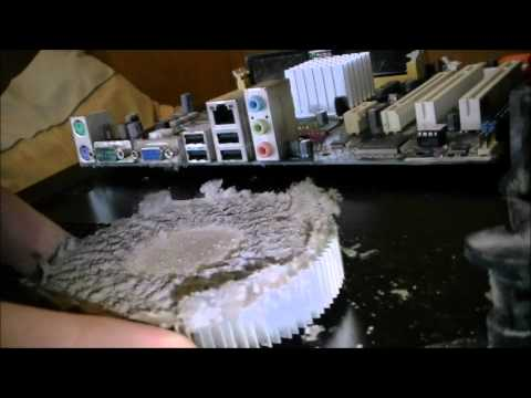 Dusty PC part2 - The CPU clean