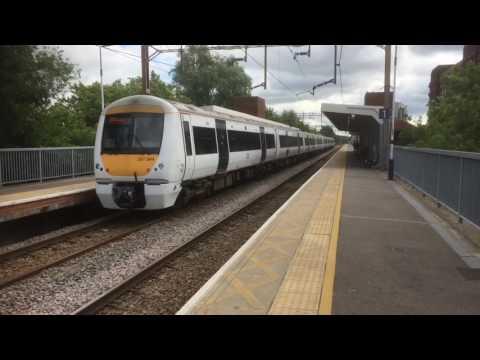 Trains at: Basildon, LTSML, 24/6/17