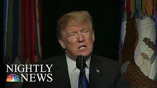 Download Donald Trump Postpones Pelosi's Trip Abroad After She Calls To Delay His SOTUA | NBC Nightly News Video