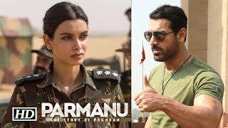 "Diana Penty's Military Look for John Abraham's ""Parmanu..."""