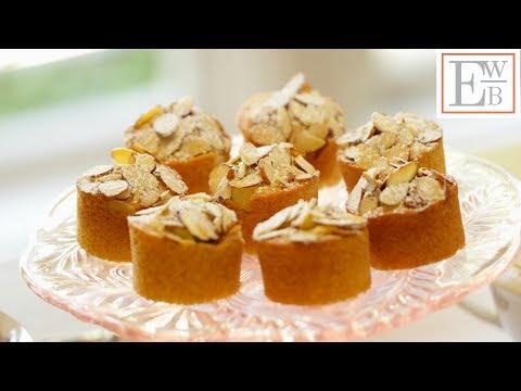 Raspberry Almond Thimble Cakes | ENTERTAINING WITH BETH