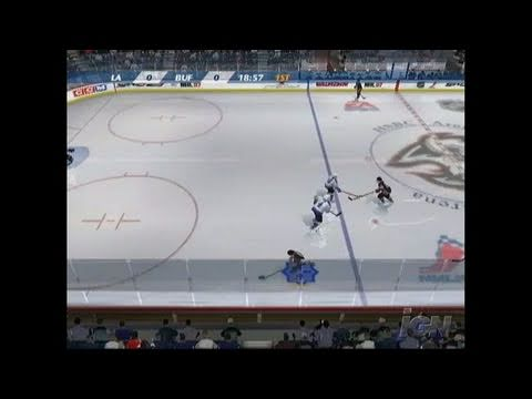 NHL 07 Xbox Gameplay - Big Hits