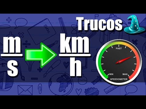 Truco para Convertir m/s a km/h al Instante