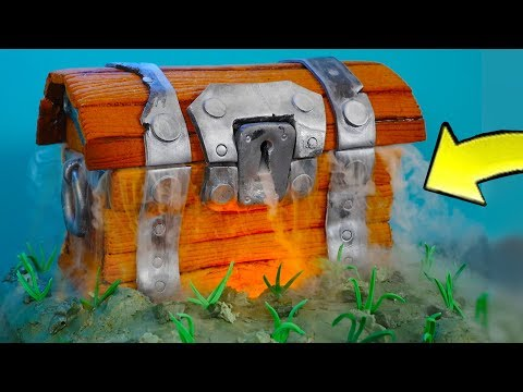 Gingerbread Fortnite Chest *In Real Life* Fortnite: Battle Royale! NEW