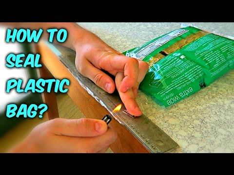 How to Reseal Chips Bag or any Plastic Bag