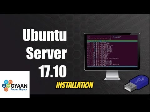 How to Install Ubuntu Server 17.10.1