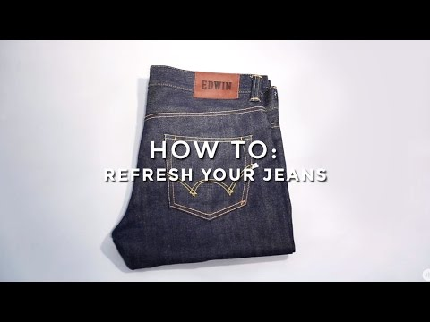 How To Refresh Your Jeans