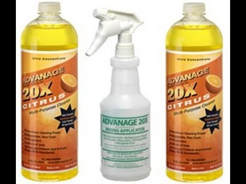 Advanage Wonder Cleaner   Bio Degradable Carpet Cleaner cleans Ovens, windows & driveways too