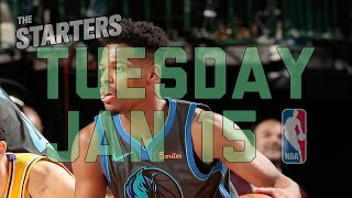 NBA Daily Show: Jan. 15 - The Starters
