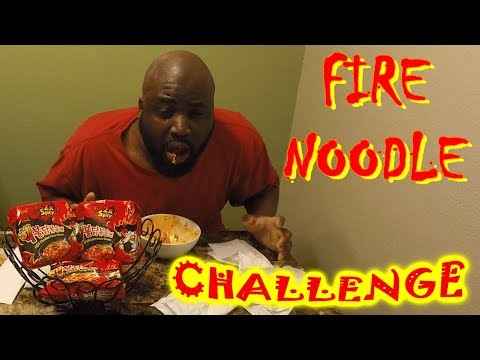 FIRE NOODLE CHALLENGE Jamaican Snuggie Reaction