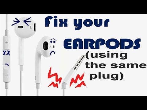 Fix your earpods using the same plug (detailed)
