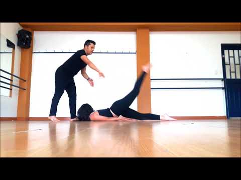 How to get a flexible back by MAURO leon @maurodancerjc