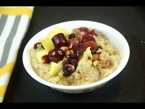 5 Minute Low Fat Breakfast / Weight loss Breakfast