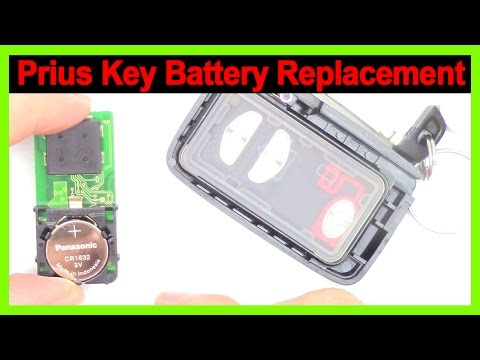 Prius Smart Key, Battery Replacement on 2010-2015 Prius