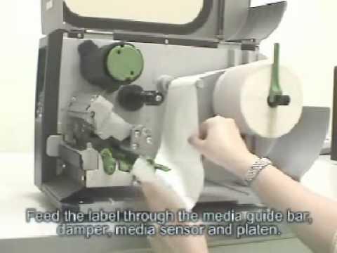 TSC - TTP 2410M Industrial Bar Code Printer