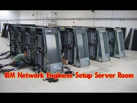Step by step | IBM Network Engineer Set-Up the Server Room