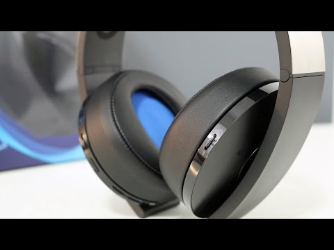 Sony Playstation 4 Platinum Wireless Headset Review