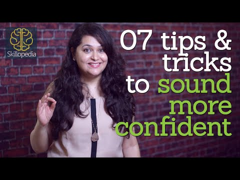 Skillopedia - 07 tricks to sound confident while speaking  (Soft skills & Communication skills)