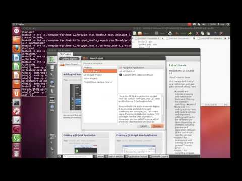 Installing Qwt library on ubuntu and qwt Sine graph example