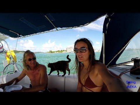 Sailing Along Eastern Coast of Puerto Rico by Sailing JAEKA, week 20