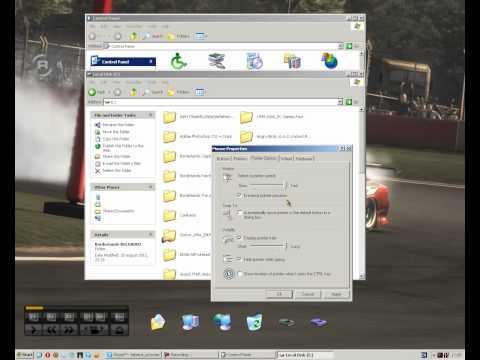Mouse Settings on Windows XP