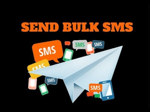 How to send bulk sms for multiple recipients?