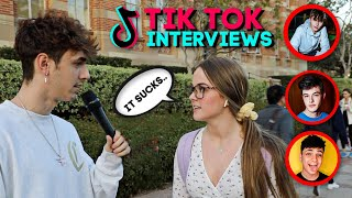 Interviewing College Students about TikTok