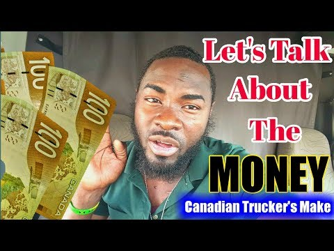 HOW MUCH MONEY DO TRUCK DRIVERS MAKE IN CANADA 🇨🇦 AS COMPANY DRIVER. Vlog #31