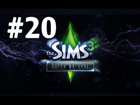 Let's Play: The Sims 3 Supernatural - [Part 20] - Swimming at Beach